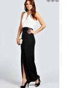 Sukienka maxi klasyczna elegancja