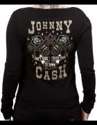 SOURPUSS Johnny Cash sweter rockabilly