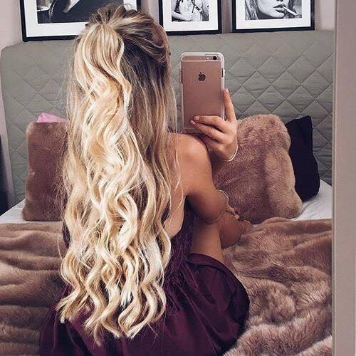 Śliczne włosy...