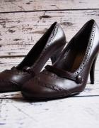 F&F markowe NOWE skórzane buty roz 38 wkł 245...
