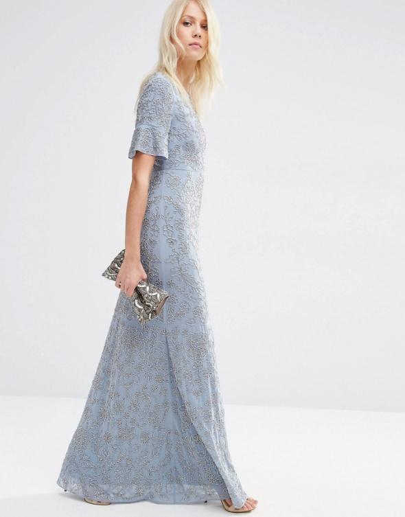 Suknia mrozem malowana
