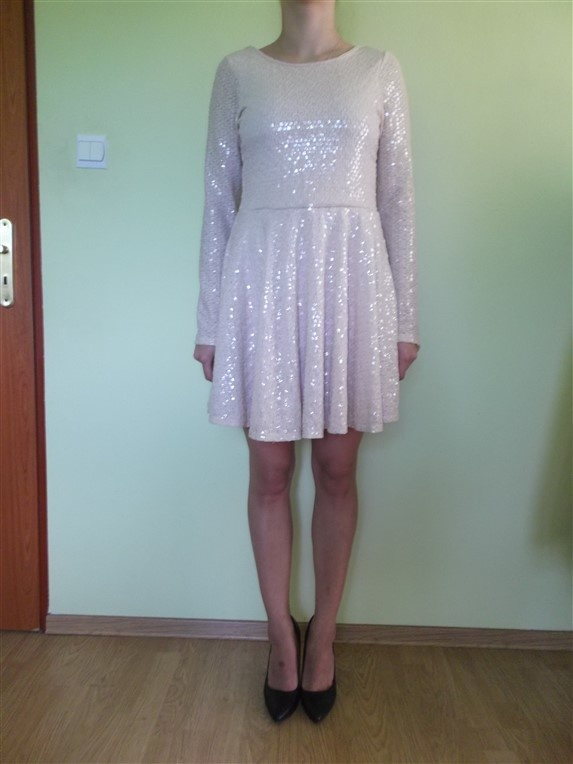 Suknie i sukienki SUKIENKA WIECZOROWA RIVER ISLAND