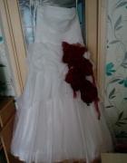 Wyjątkowa suknia ślubna roz 4246
