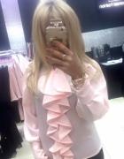 Różowa blyzka z zabotem uni pf paparazzi fashion