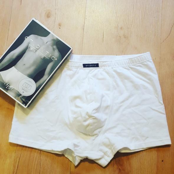 Bielizna Atlantic szorty męskie białe L NOWE PROMOCJA