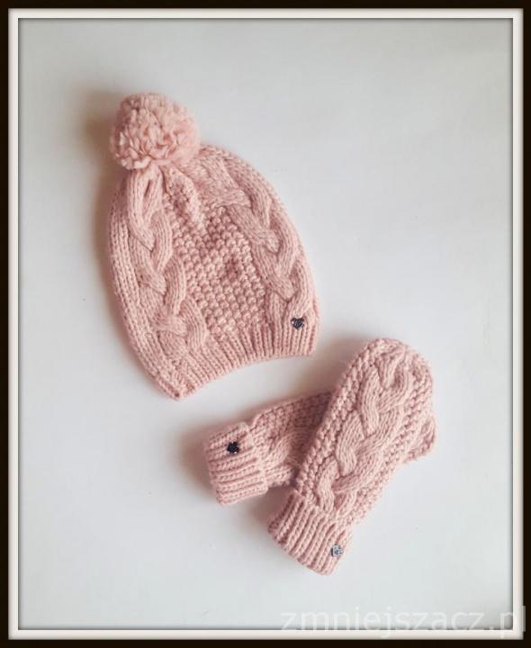Rękawiczki Sinsay komplet czapka rękawiczki nowy