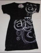 DESIGUAL tunika sukienka czarna M L...