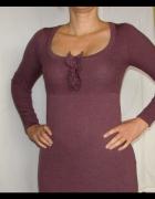 BODEN ciepła sukienka tunika 100 wool 42 ideał