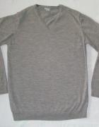 GAP ciepły sweter italian merino wool L...