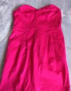 różowa sukienka hm