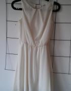 Biała sukienka New Yorker
