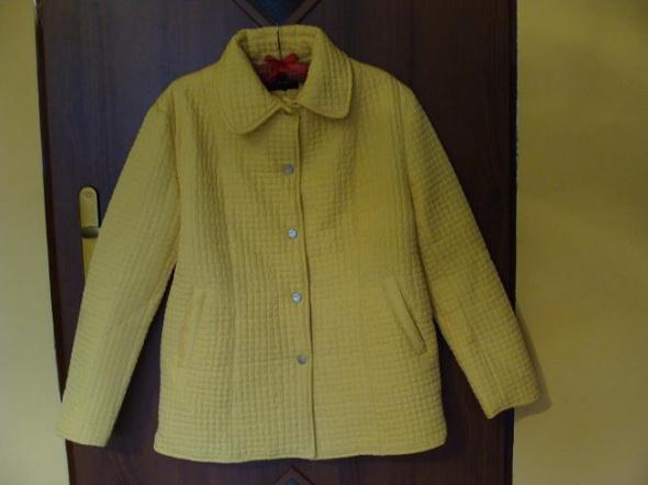żółta pikowana kurteczka XL