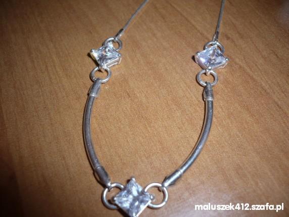 Łańcuszki nowy srebrny