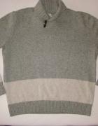 GAP szary sweter lambswool XL...