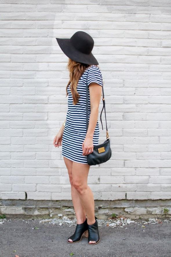 Codzienne Marynarz w kapeluszu