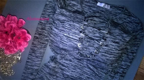 najmodniejsza sukienka wiązania melanż