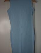 sukienka zgolfem baby blue
