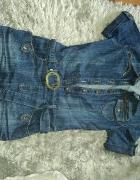 jeansowa sukienka 36