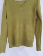 Zielony sweter...