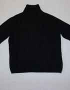 MARKS&SPENCER czarny sweter angora cashmere 42