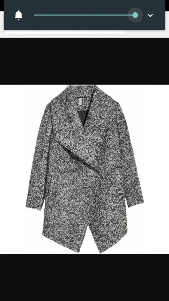 Ubrania Szary płaszcz