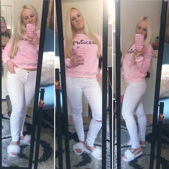 Mój styl Cukierkowo Princess Pink Wiosna