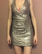 cekinowa sukienka sexy