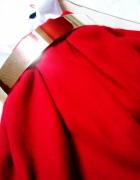 Czerwona Rozkloszowana Spódnica XS