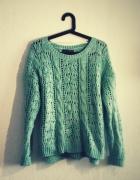 sweter ażurowy Atmosphere M...