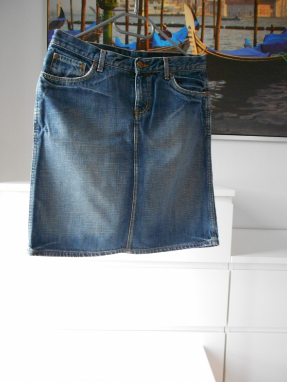 Spódnice Dżinsowa spódnica do kolan H&M 38 M
