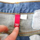Dżinsowa spódnica do kolan H&M 38 M