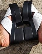 VAGABOND rozmiar 40 LINDI WHITE slide platforma