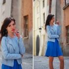 Sukienka i ramoneska