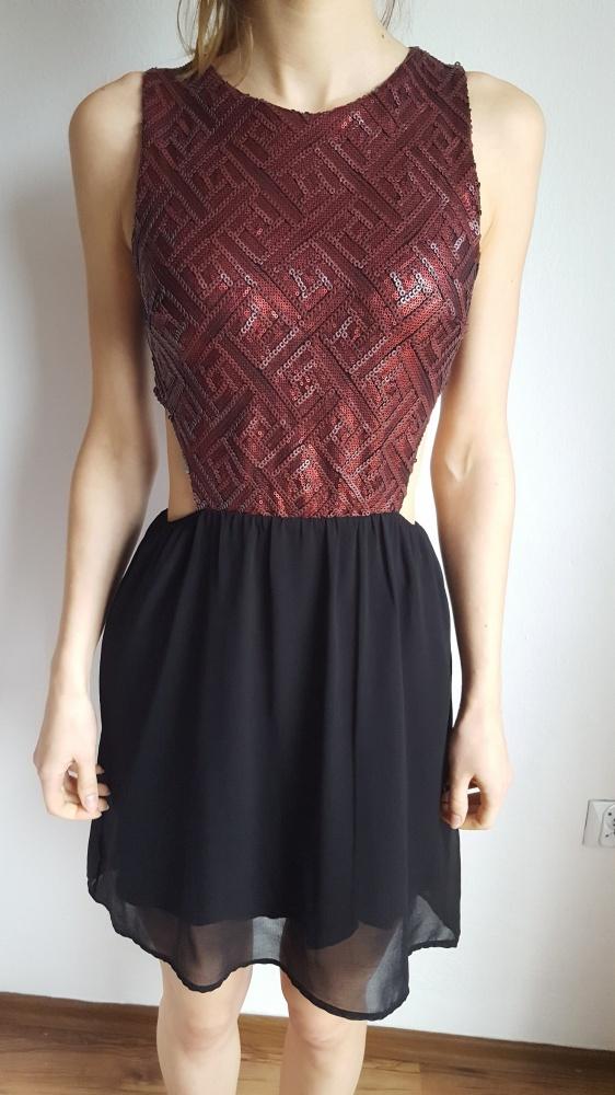 Suknie i sukienki Sukienka Pimkie cekinowa góra