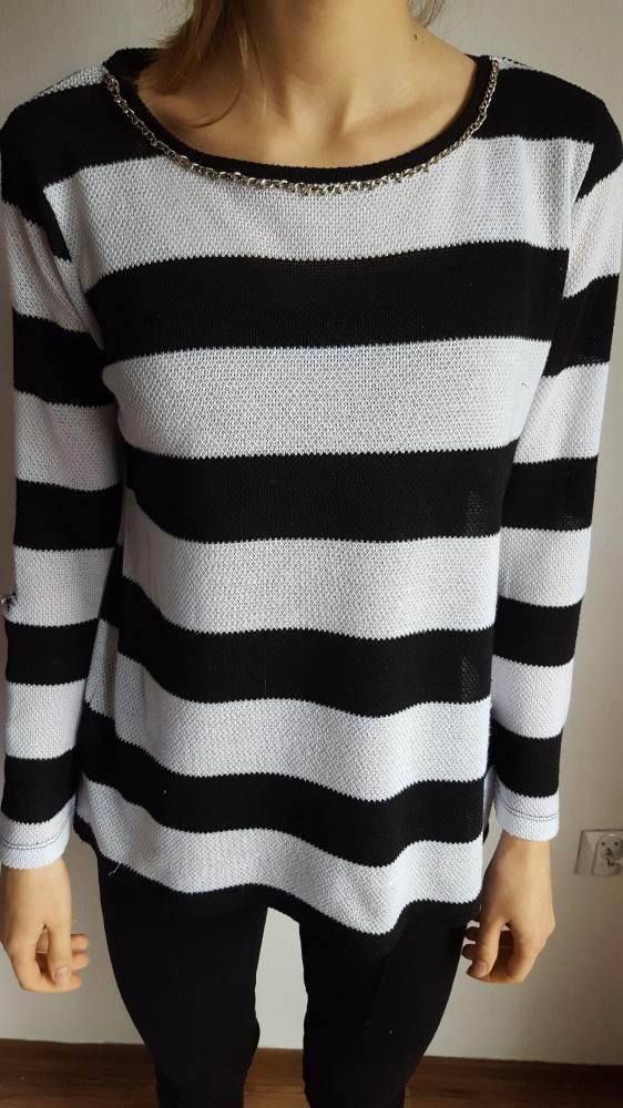 Swetry Sweterek w paski House S 36