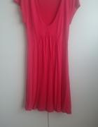 Czerwona sukienka H&M rozmiar S ale też na xs