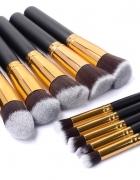 Pędzle do makijażu 10szt makeup nowe Łódź