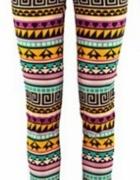 rurki azteckie wzory h&m
