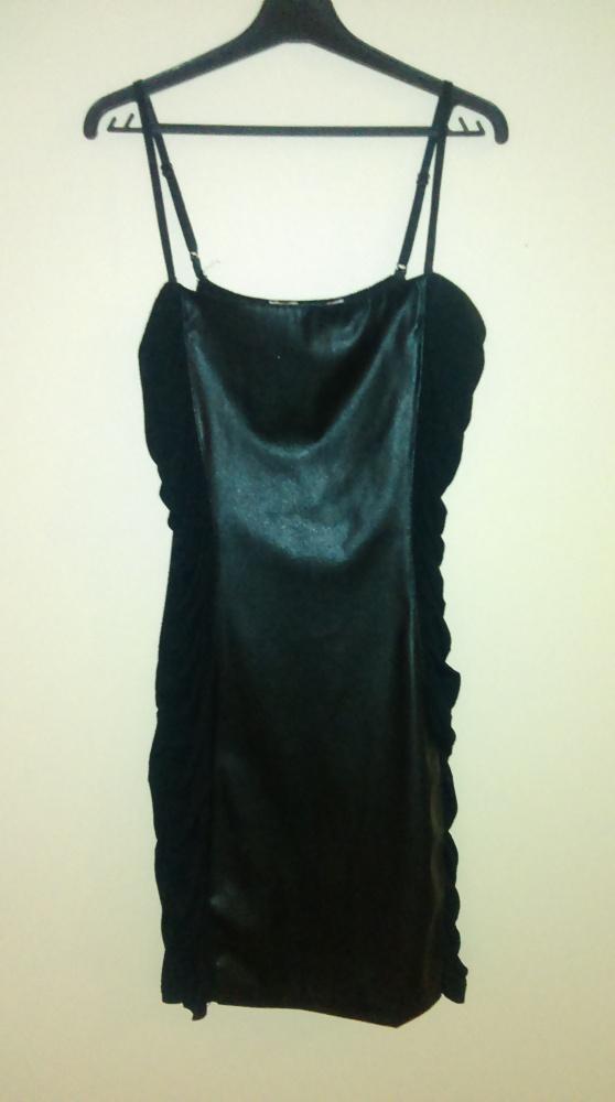 Suknie i sukienki Sukienka tally wejli M skórzana