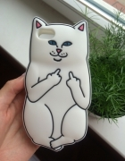 iphone case 5 5s Nowy kot cat fuck