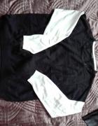 Czarno biały sweterek oversize marki George