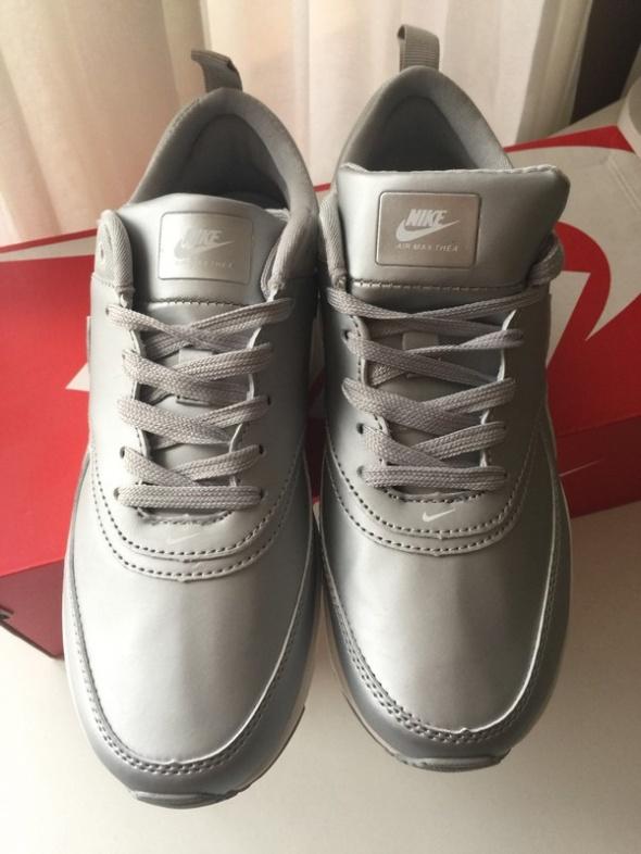 Nike Air Max Thea Se Silver 38 nowe srebrne szare w Sportowe