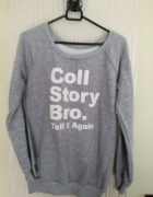 Bluza dresowa blogerska
