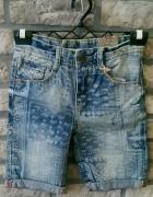 Jeansowe chłopięce spodenki ZARA...