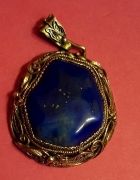 Srebrny Filigran Lapis Lazuli