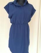Granatowa sukienka rozmiar XL nowa