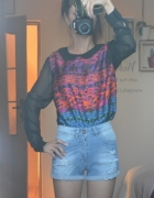 bluzka koszula mgielka 34 Tally Weijl