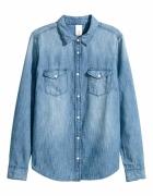 Koszula H&M dżinsowa...