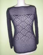 ażurowy sweterek m