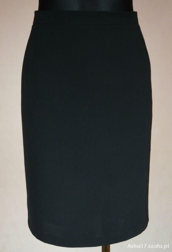 Spódnice czarna klasyczna spódniczka 40